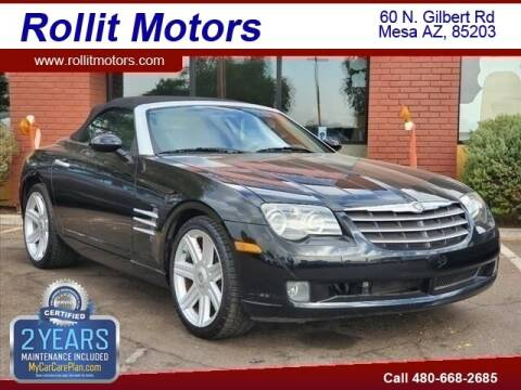 2005 Chrysler Crossfire for sale at Rollit Motors in Mesa AZ