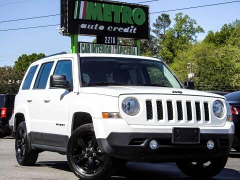 2015 Jeep Patriot for sale at Used Imports Auto - Metro Auto Credit in Smyrna GA
