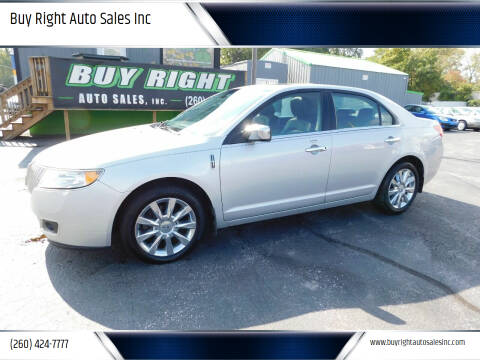 2010 Lincoln MKZ for sale at Buy Right Auto Sales Inc in Fort Wayne IN