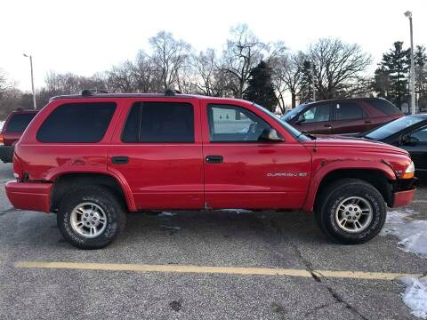 1999 Dodge Durango for sale at Cannon Falls Auto Sales in Cannon Falls MN
