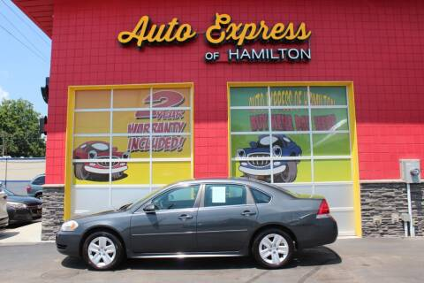 2011 Chevrolet Impala for sale at AUTO EXPRESS OF HAMILTON LLC in Hamilton OH