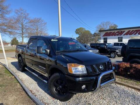 2012 Nissan Titan for sale at Beach Auto Brokers in Norfolk VA