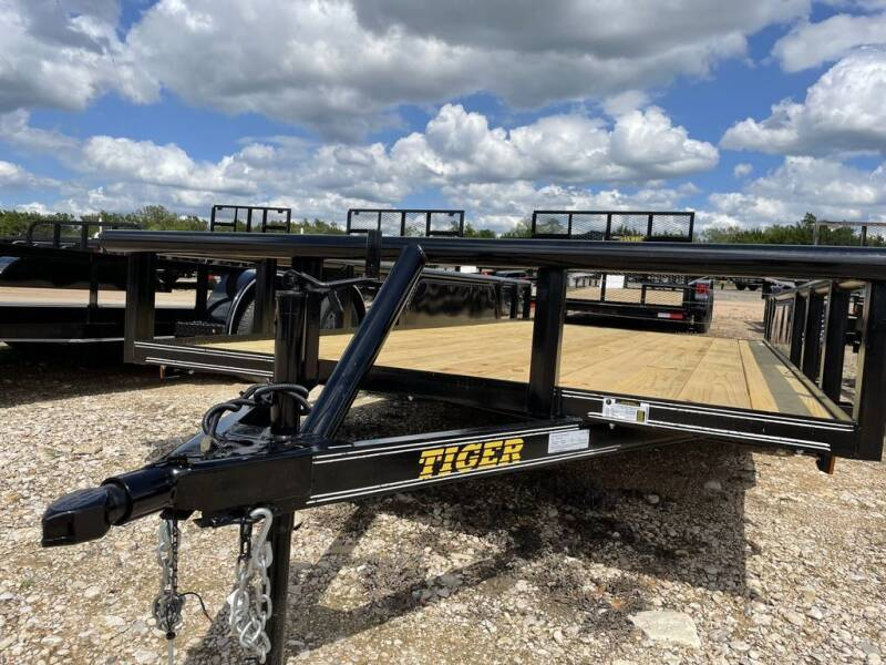 """2021 TIGER  Utility  83"""" X 16' - PIP for sale at LJD Sales in Lampasas TX"""