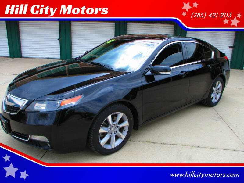 2012 Acura TL for sale at Hill City Motors in Hill City KS