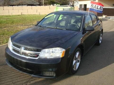 2013 Dodge Avenger for sale at MOTORAMA INC in Detroit MI