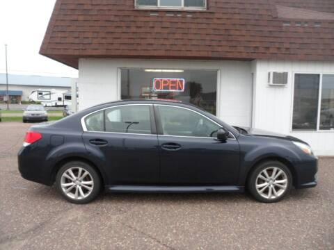 2013 Subaru Legacy for sale at Paul Oman's Westside Auto Sales in Chippewa Falls WI