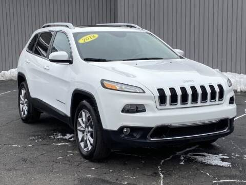 2018 Jeep Cherokee for sale at Bankruptcy Auto Loans Now - powered by Semaj in Brighton MI