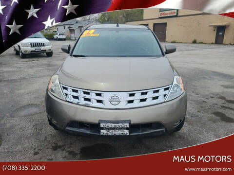 2004 Nissan Murano for sale at MAUS MOTORS in Hazel Crest IL