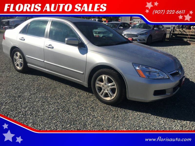 2007 Honda Accord for sale at FLORIS AUTO SALES in Anchorage AK