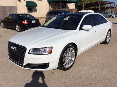 2015 Audi A8 L for sale at OASIS PARK & SELL in Spring TX