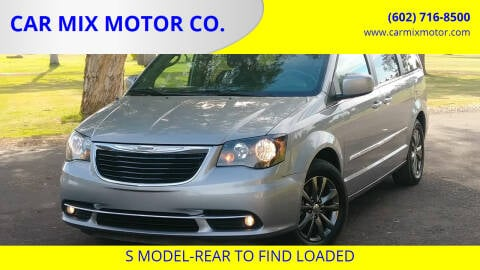 2015 Chrysler Town and Country for sale at CAR MIX MOTOR CO. in Phoenix AZ