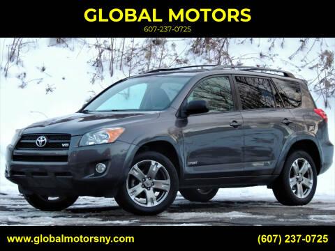 2012 Toyota RAV4 for sale at GLOBAL MOTORS in Binghamton NY