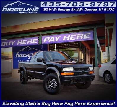 2003 Chevrolet S-10 for sale at Ridgeline Auto Sales in Saint George UT
