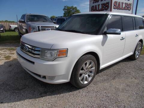 2009 Ford Flex for sale at OTTO'S AUTO SALES in Gainesville TX