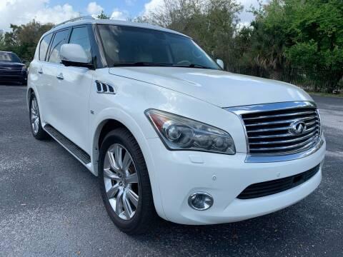2014 Infiniti QX80 for sale at Perfection Motors in Orlando FL
