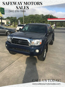 2008 Toyota Tacoma for sale at Safeway Motors Sales in Laurinburg NC
