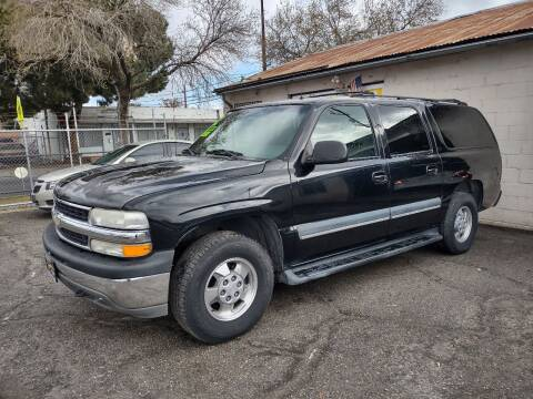 2002 Chevrolet Suburban for sale at Larry's Auto Sales Inc. in Fresno CA