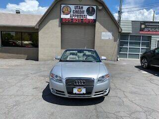 2007 Audi A4 for sale at Utah Credit Approval Auto Sales in Murray UT