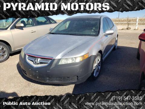 2005 Acura TL for sale at PYRAMID MOTORS - Pueblo Lot in Pueblo CO