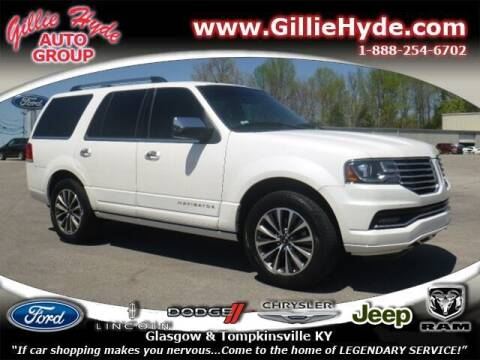 2016 Lincoln Navigator for sale at Gillie Hyde Auto Group in Glasgow KY