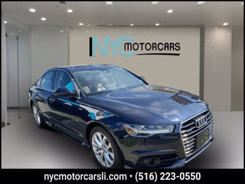 2018 Audi A6 for sale at NYC Motorcars in Freeport NY