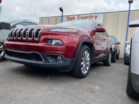 2015 Jeep Cherokee for sale at New Wave Auto Brokers & Sales in Denver CO