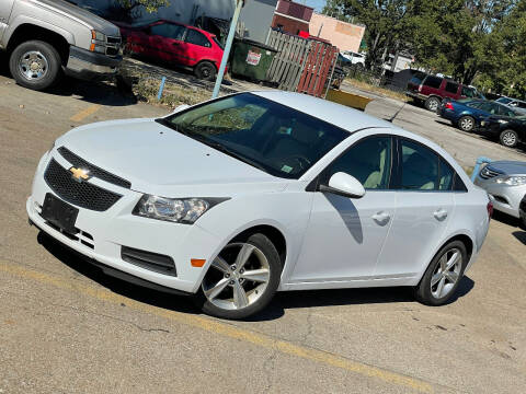 2012 Chevrolet Cruze for sale at Exclusive Auto Group in Cleveland OH
