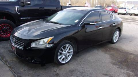 2009 Nissan Maxima for sale at LEE AUTO SALES in McAlester OK
