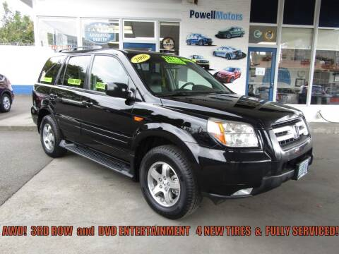 2008 Honda Pilot for sale at Powell Motors Inc in Portland OR