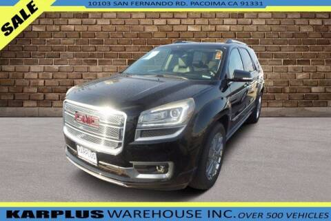 2016 GMC Acadia for sale at Karplus Warehouse in Pacoima CA