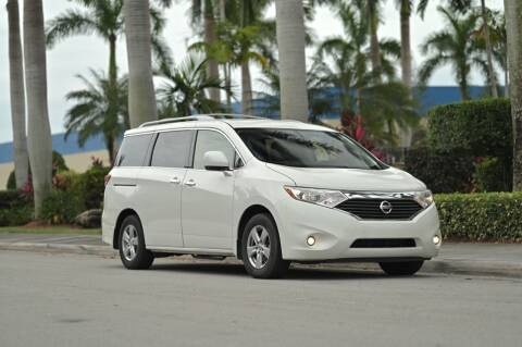 2014 Nissan Quest for sale at EURO STABLE in Miami FL