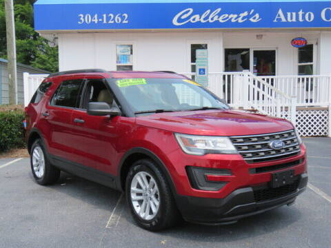 2017 Ford Explorer for sale at Colbert's Auto Outlet in Hickory NC