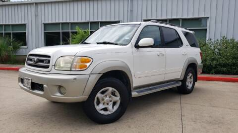2002 Toyota Sequoia for sale at Houston Auto Preowned in Houston TX