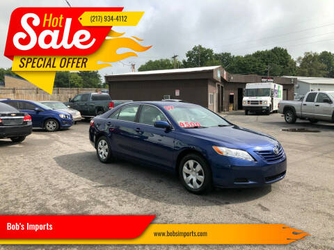 2007 Toyota Camry for sale at Bob's Imports in Clinton IL