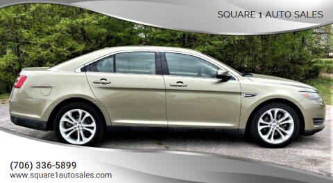 2013 Ford Taurus for sale at Square 1 Auto Sales - Commerce in Commerce GA