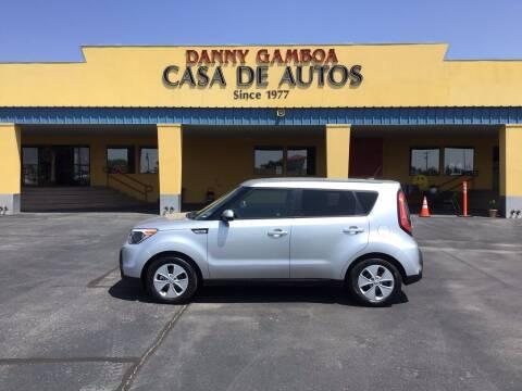 2016 Kia Soul for sale at CASA DE AUTOS, INC in Las Cruces NM