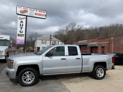 2014 Chevrolet Silverado 1500 for sale at 401 Auto Sales & Service in Smithfield RI