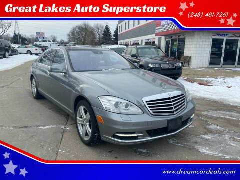 2010 Mercedes-Benz S-Class for sale at Great Lakes Auto Superstore in Pontiac MI