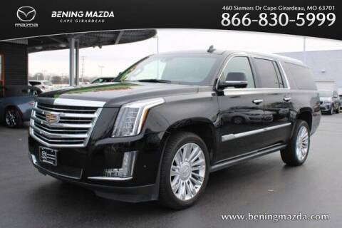 2020 Cadillac Escalade ESV for sale at Bening Mazda in Cape Girardeau MO