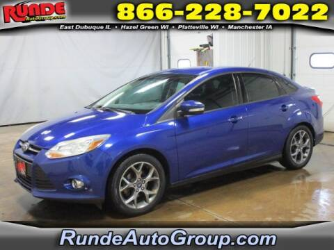 2014 Ford Focus for sale at Runde Chevrolet in East Dubuque IL