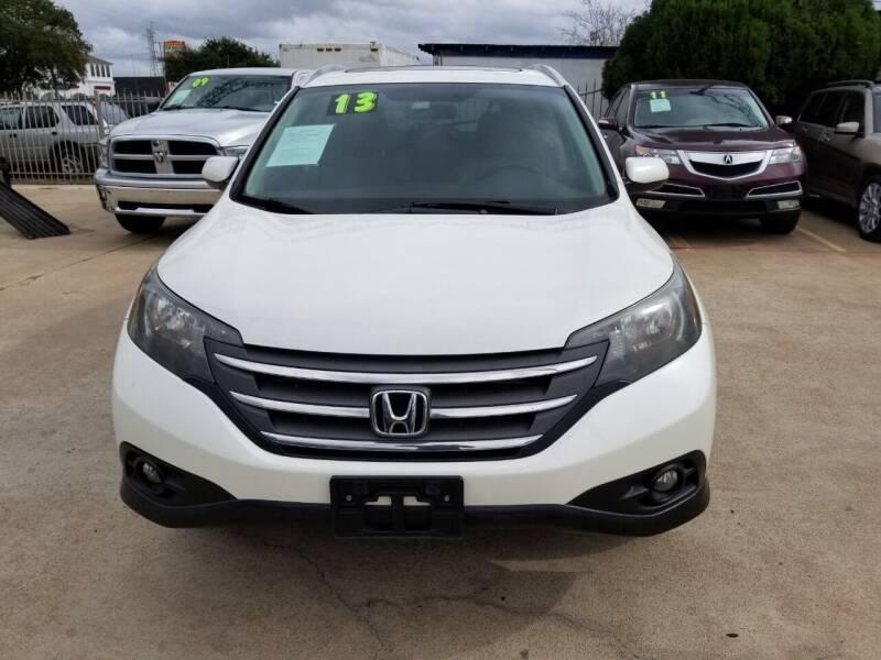 2013 Honda CR-V for sale at SOUTHWAY MOTORS in Houston TX