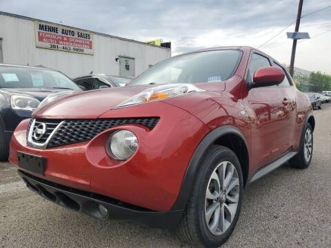 2013 Nissan JUKE for sale at MENNE AUTO SALES in Hasbrouck Heights NJ