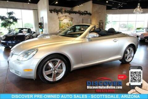 2003 Lexus SC 430 for sale at Discover Pre-Owned Auto Sales in Scottsdale AZ