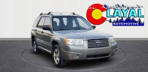 2006 Subaru Forester for sale at Layal Automotive in Englewood CO