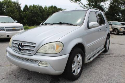 2005 Mercedes-Benz M-Class for sale at UpCountry Motors in Taylors SC
