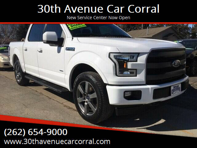 2017 Ford F-150 for sale at 30th Avenue Car Corral in Kenosha WI