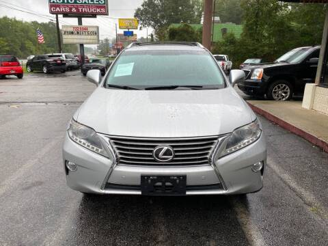 2014 Lexus RX 350 for sale at J Franklin Auto Sales in Macon GA