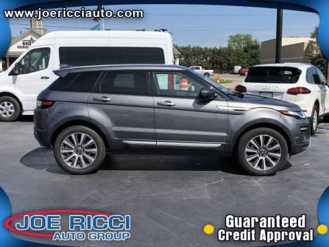 2017 Land Rover Range Rover Evoque for sale at JOE RICCI AUTOMOTIVE in Clinton Township MI