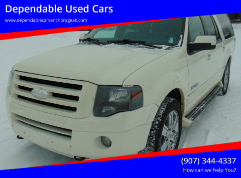 2008 Ford Expedition EL for sale at Dependable Used Cars in Anchorage AK