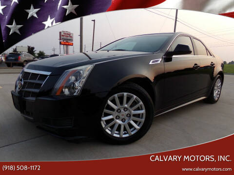 2010 Cadillac CTS for sale at Calvary Motors, Inc. in Bixby OK